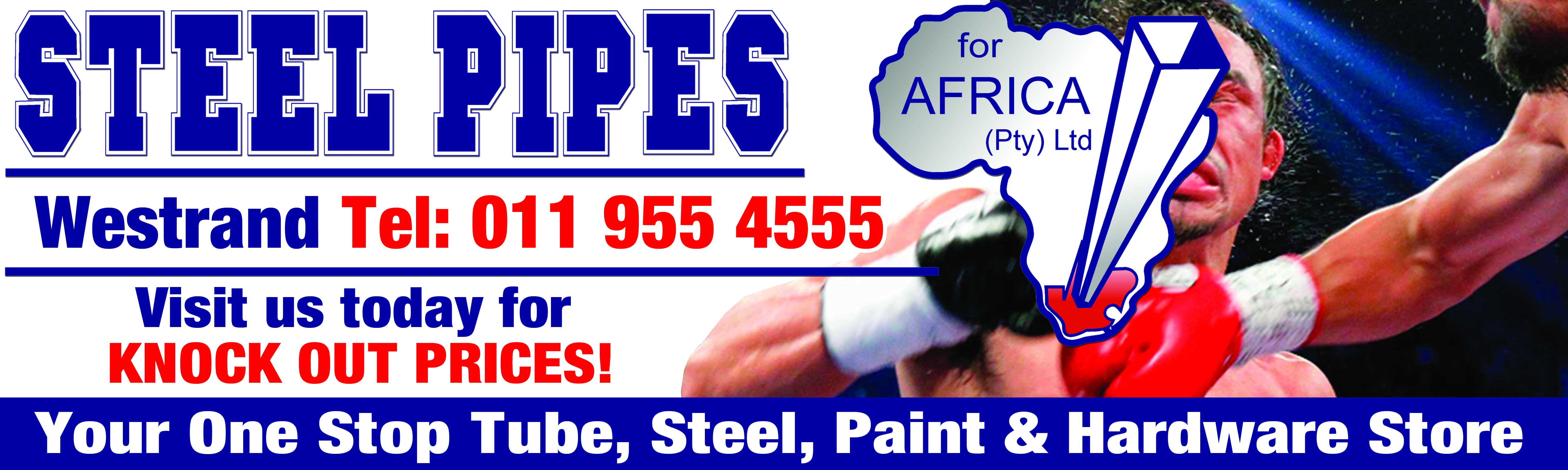 Steel Pipes Banner 2